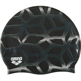 arena Print 2 Swimming Cap spider-black